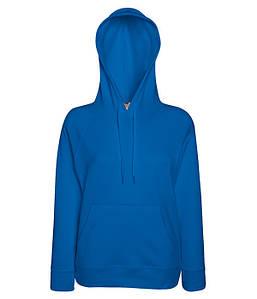 Жіноча кофта з капюшоном XS, 51 Яскраво-Синій