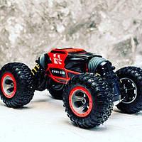 Трюковый BigFoot Rock Crawler на р/у, 34 см, UD2169A   Масштаб 1:18   Красного цвета, фото 1