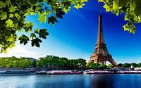 Фотообои  Эйфелева башня разные текстуры, индивидуальный размер