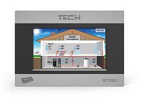 Проводной комнатный регулятор со связью RS TECH ST-280