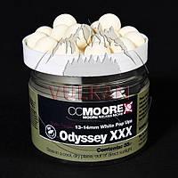 Плавающие бойлы CC Moore Odyssey XXX White Pop Ups 13-14мм (35шт), фото 1