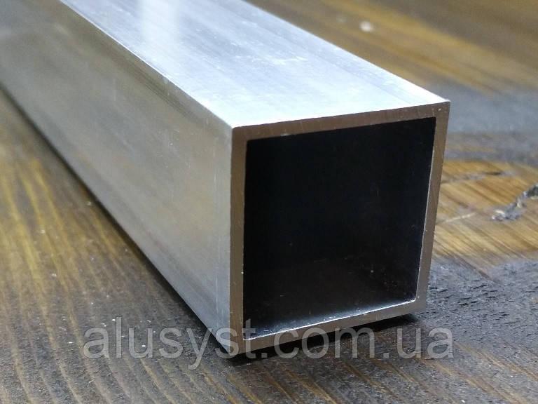 Труба 25х25х1,5 без покрытия. Алюминиевая квадратная