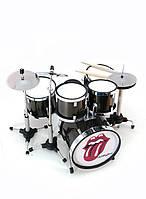 """Барабанная установка миниатюрная """"Rolling Stones"""" 13х13х11см (29675C)"""