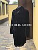 Пальто из  кролика Рекса, фото на манекене