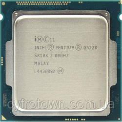 Процессор Intel Pentium G3220 2x3.0GHz 5GTs 3MB  s1150 бу
