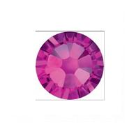 Стразы стеклянные SS 3 Fuchsia Фуксия, 100 шт