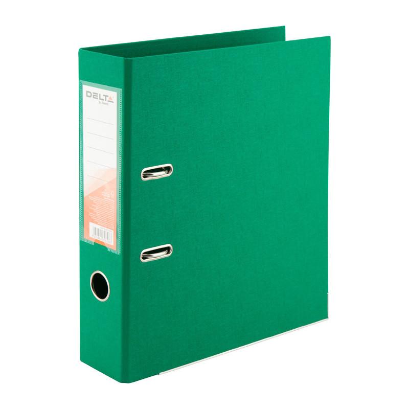 Папка-реєстратор А 4, 7,5см Axent Delta зелена двостор.
