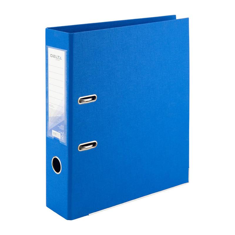 Папка-реєстратор А 4, 7,5см Axent Delta блакитна двостор.