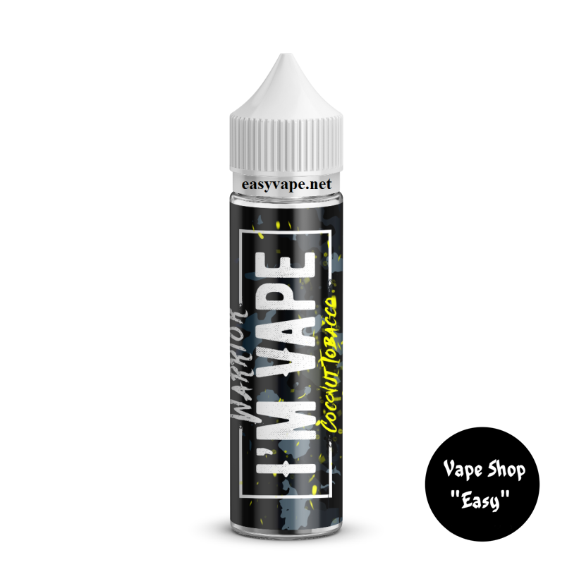 Im vape Warrior Coconut Tobacco 60 ml Жидкость для вейпа.