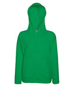 Жіноча кофта з капюшоном L, 47 Яскраво-Зелений