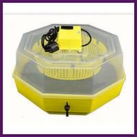Бытовой инкубатор с механическим поворотом на 60 яиц, фото 1