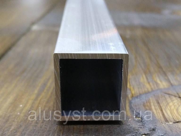 Труба алюминиевая квадратная Модель ПАС-1950 30x30х1.5 / без покрытия