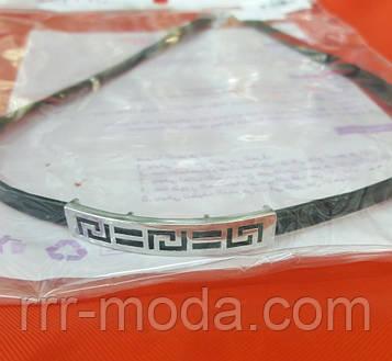 Кожаные чокеры Xuping с позолотой. Модные украшения на шею оптом 35