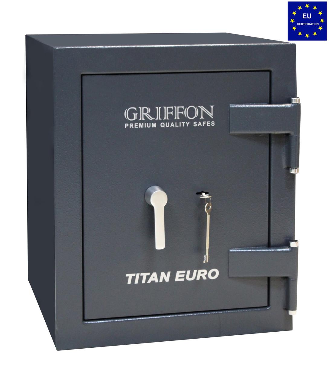 Огневзломостойкий сейф GRIFFON CLE.II.60.K черный (Украина)