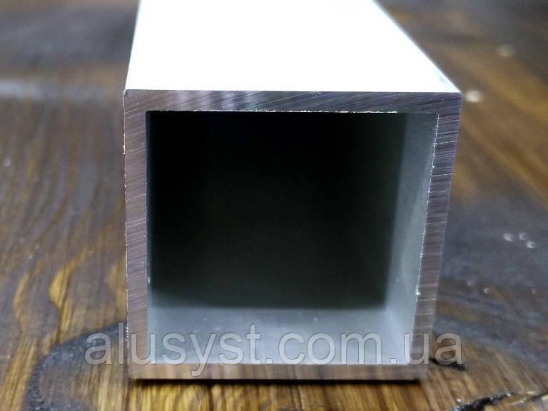 Труба алюминиевая квадратная Модель ПАС-1950 30x30х2 / AS