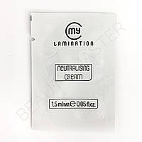 My Lamination Step 2 Neutralising cream 1.5 ml
