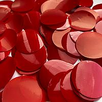 Конфетти кружочки красные 23 мм, 50 г