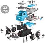 Конструктор DIY Spatial Creativity  - Цистерна в про. уп. LM8053-SC-P, фото 4