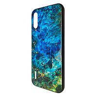 Чехол-накладка DK Silicone Form Glass Aquatic для Xiaomi Mi 9 Lite (Mi CC9) (01)