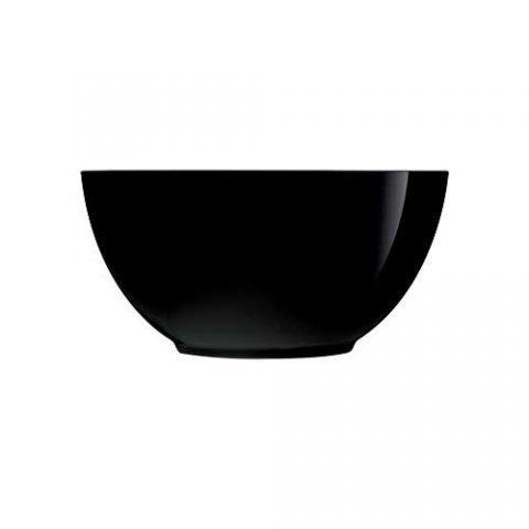 Салатник/Пиала LUMINARC DIWALI BLACK /12 см (P0861)