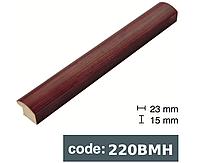 Багет дерев'яний червоний бамбук/бронзовий бамбук