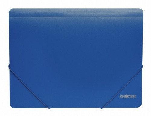 Папка пластикова на гумках Ф-4 синя 75282-02 (20/120)