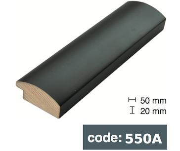 Багет дерев'яний  чорний