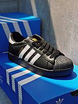 Мужские кроссовки ADIDAS SUPERSTAR мужская обувь кроссовки адидас суперстар черные, фото 2