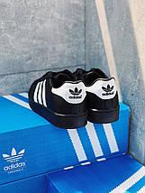 Мужские кроссовки ADIDAS SUPERSTAR мужская обувь кроссовки адидас суперстар черные, фото 3
