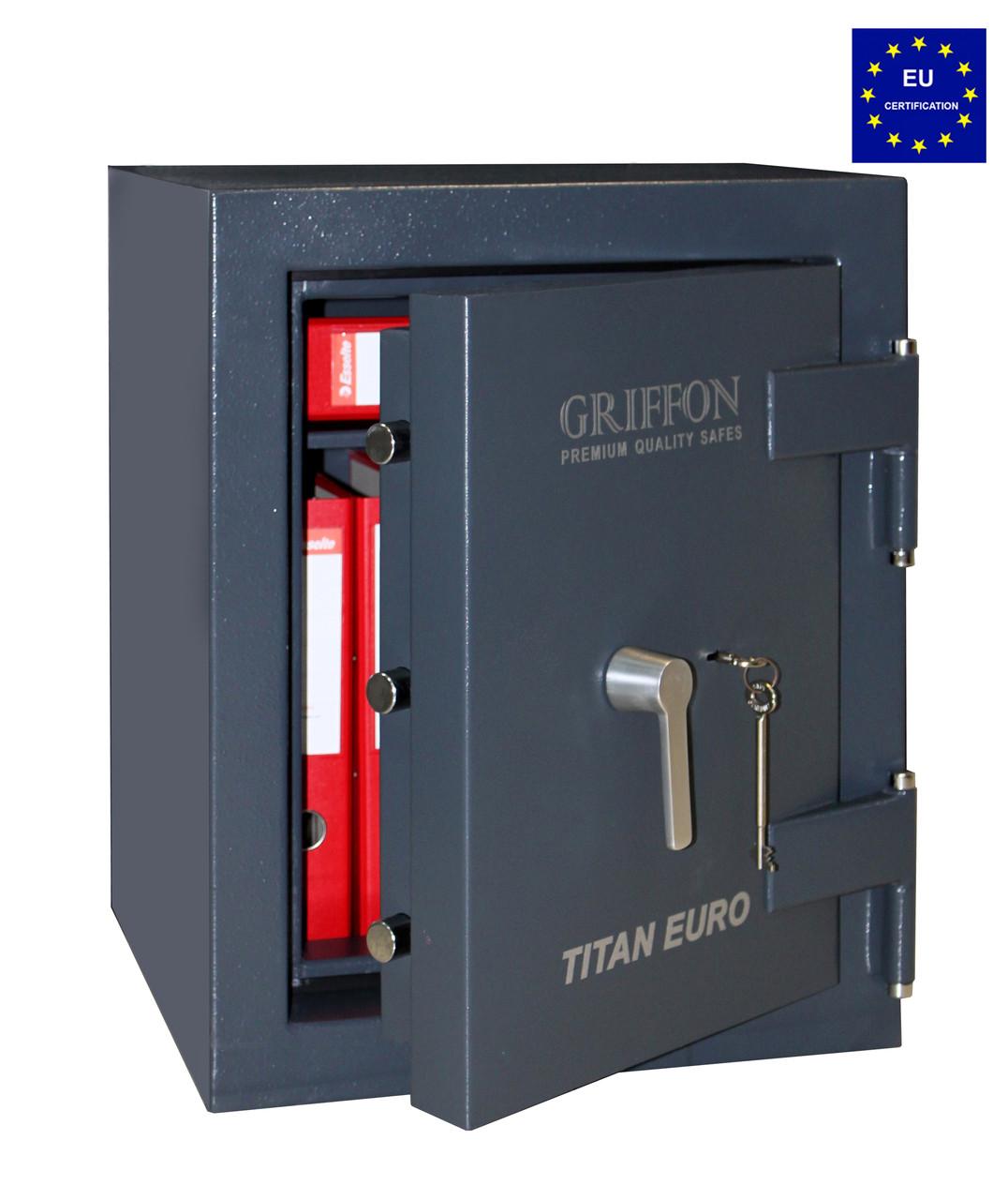 Огневзломостойкий сейф GRIFFON CLE.II.60.K черный (Украина), фото 3