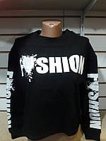 """Батник женский молодежный с надписями размеры S-M (7 цв.) """"LEDI"""" купить недорого от прямого поставщика"""