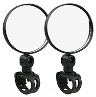 Зеркало на руль Reflector 2pcs (black)