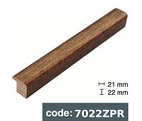 Багет дерев'яний бронза потріскана