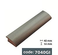 Багет дерев'яний сталевий