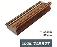 Багет дерев'яний старе золото
