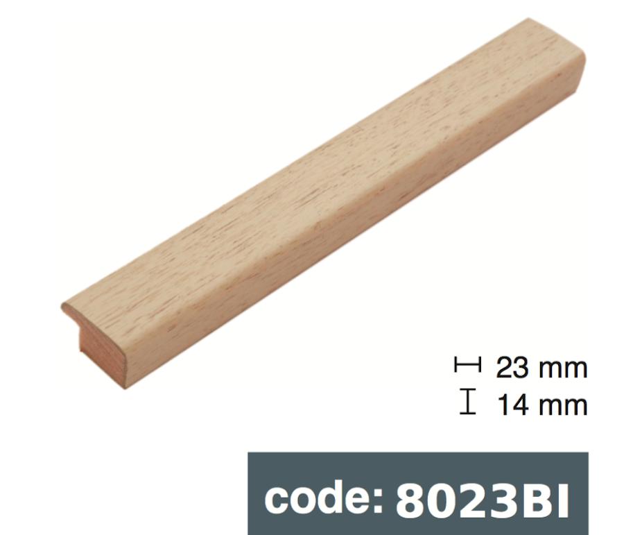 Багет дерев'яний бєжевий