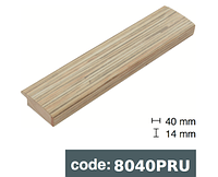 Багет дерев'яний бамбук шпалери