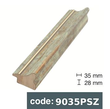 Багет дерев'яний бежевий