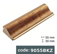 Багет дерев'яний золото потріскане