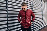 Мужская куртка бордо