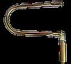 Лобзик ручний трубний цинк з дерев'яною ручкою