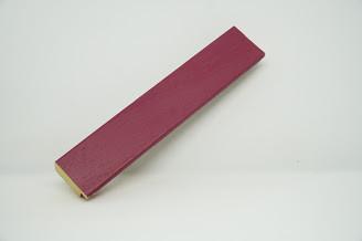 Багет дерев'яний рожевий темний