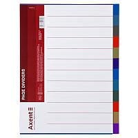 Розділювач сторінок кольоровий, 12 розділів