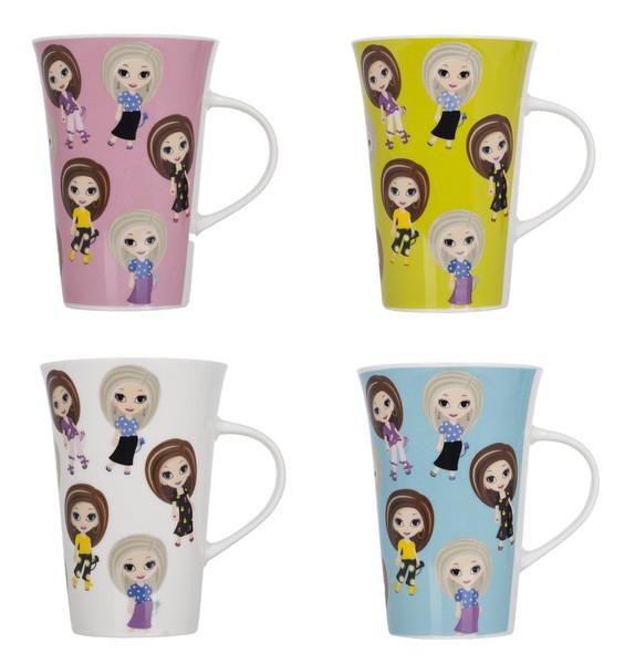 Чашка Limited Edition FASHION GIRL в ассортименте /350 мл в уп. (B678-0956GB)