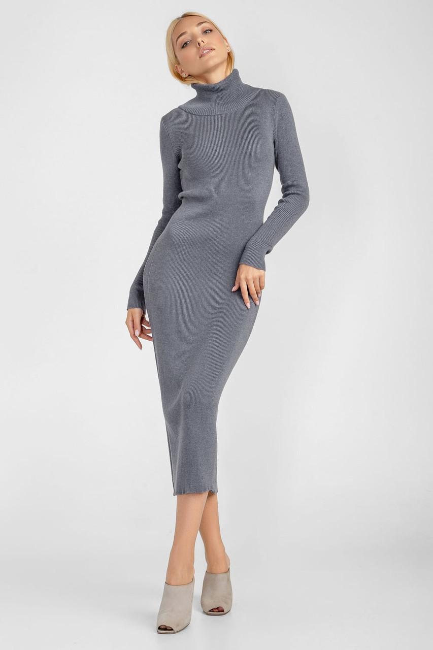 Элегантное длинное платье-футляр прилегающего силуэта платье гольф миди
