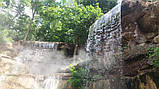Фонтаны, Водопады и Бассейны из Бетона и Камня. Искусственные Водопады. Облицовка Камнем вокруг Бассейна., фото 7