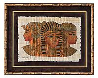 Оформление папируса в рамку
