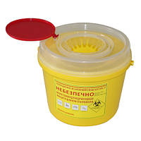 Контейнер полімерний для медичних відходів КТХ-3-6,0 Медапаратура