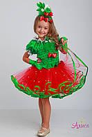 Карнавальный костюм Клубника для девочки, фото 1