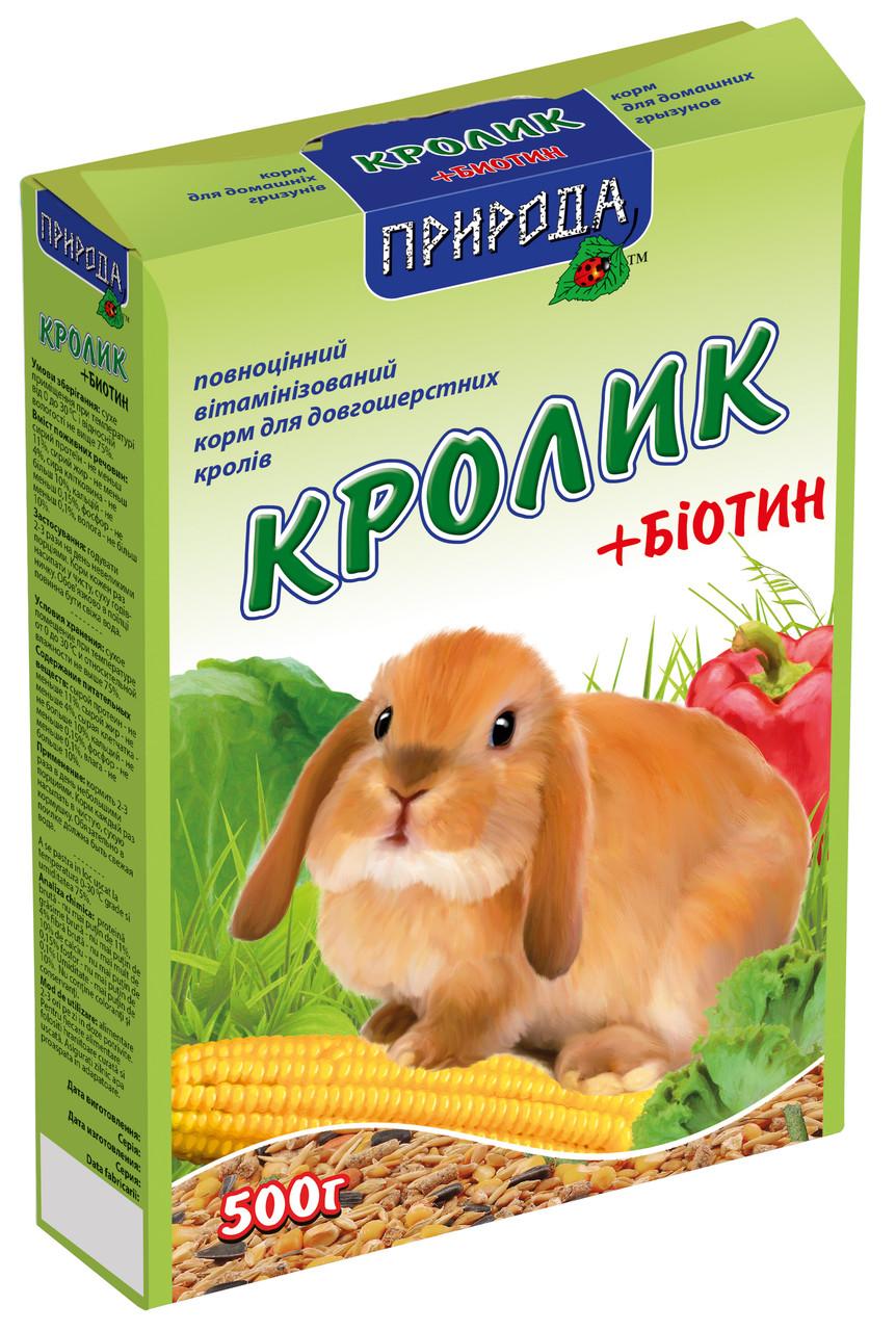 Корм для кролика Біотин NEW